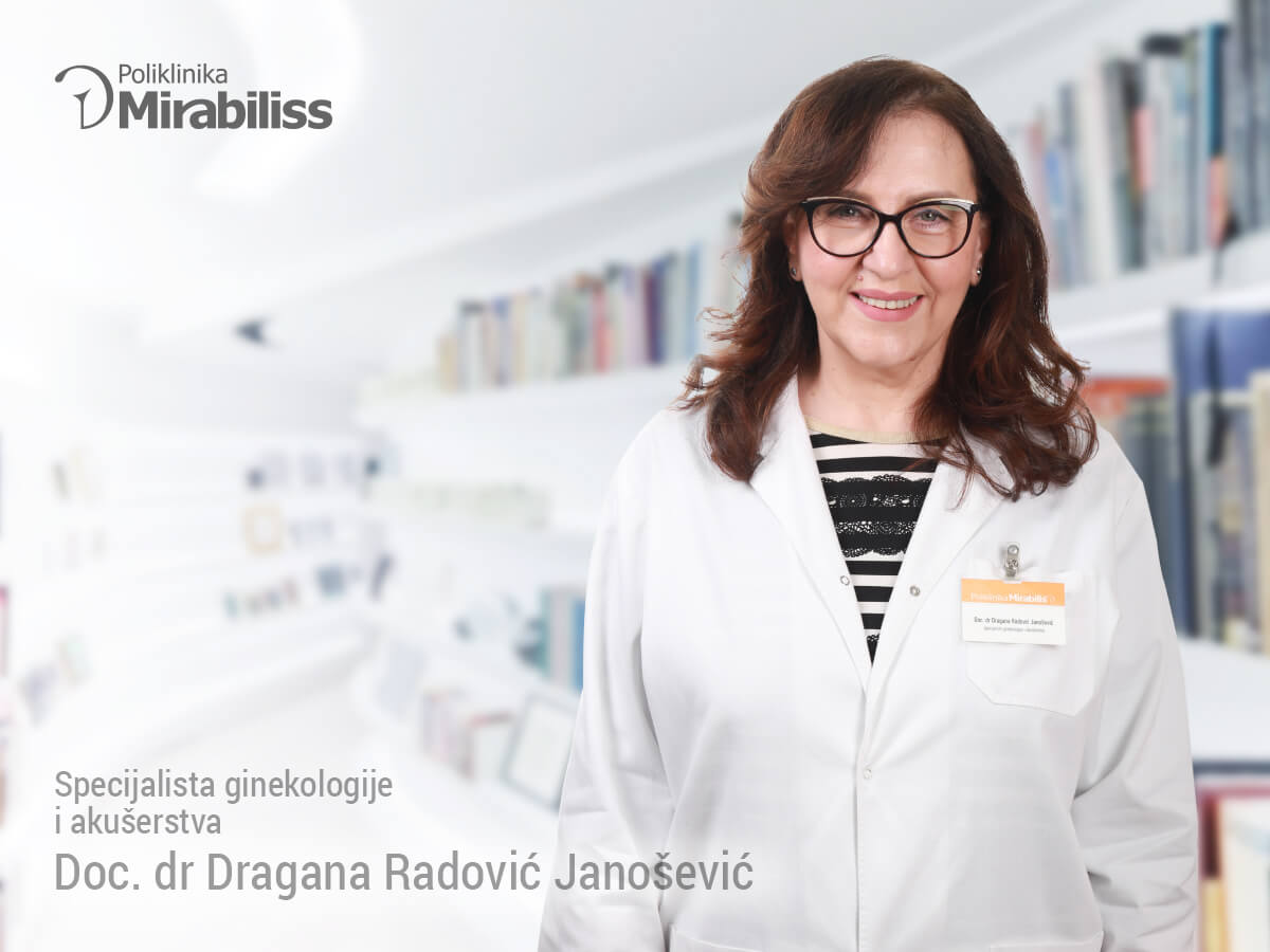 Mirabiliss Poliklinika, Niš - Stručni tim - doc dr Dragana radović Janošević