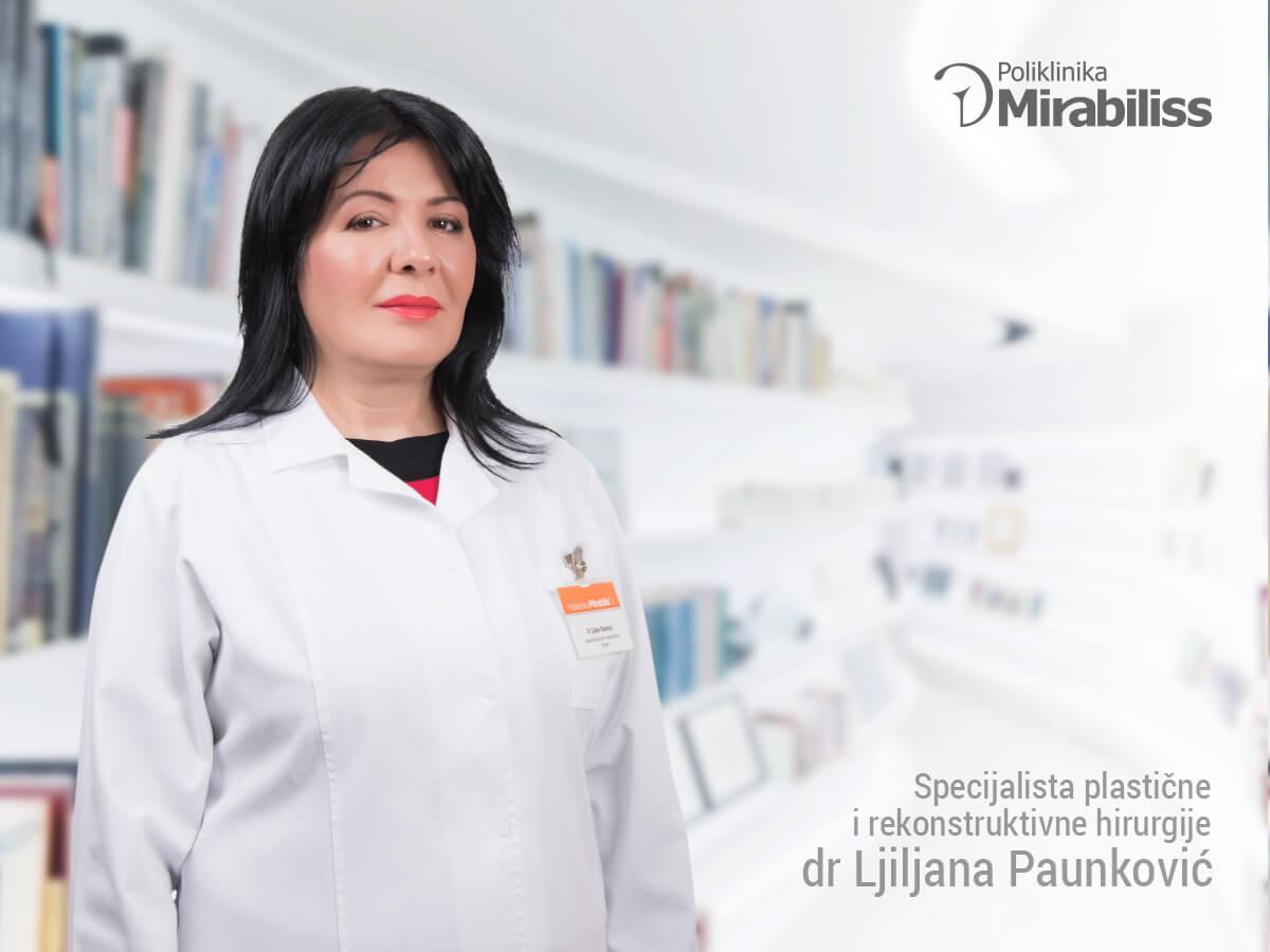 Mirabiliss Poliklinika, Niš - Stručni tim - dr Ljiljana Paunković