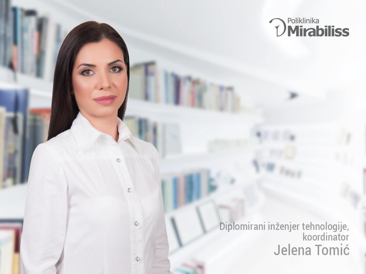Mirabiliss Poliklinika, Niš - Stručni tim - Jelena Tomić