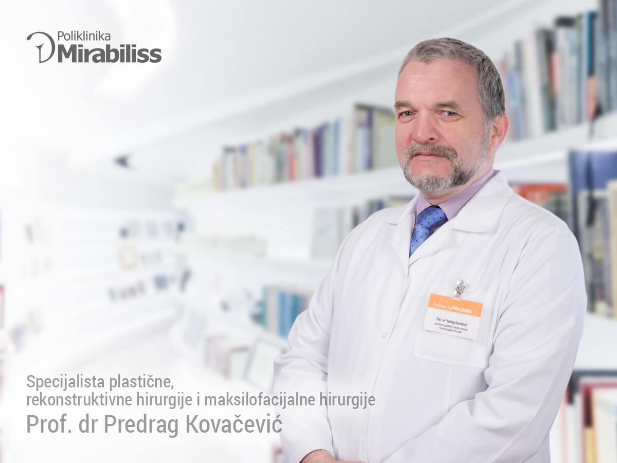 Mirabiliss Poliklinika, Niš - Stručni tim - prof dr Predrag Kovačević