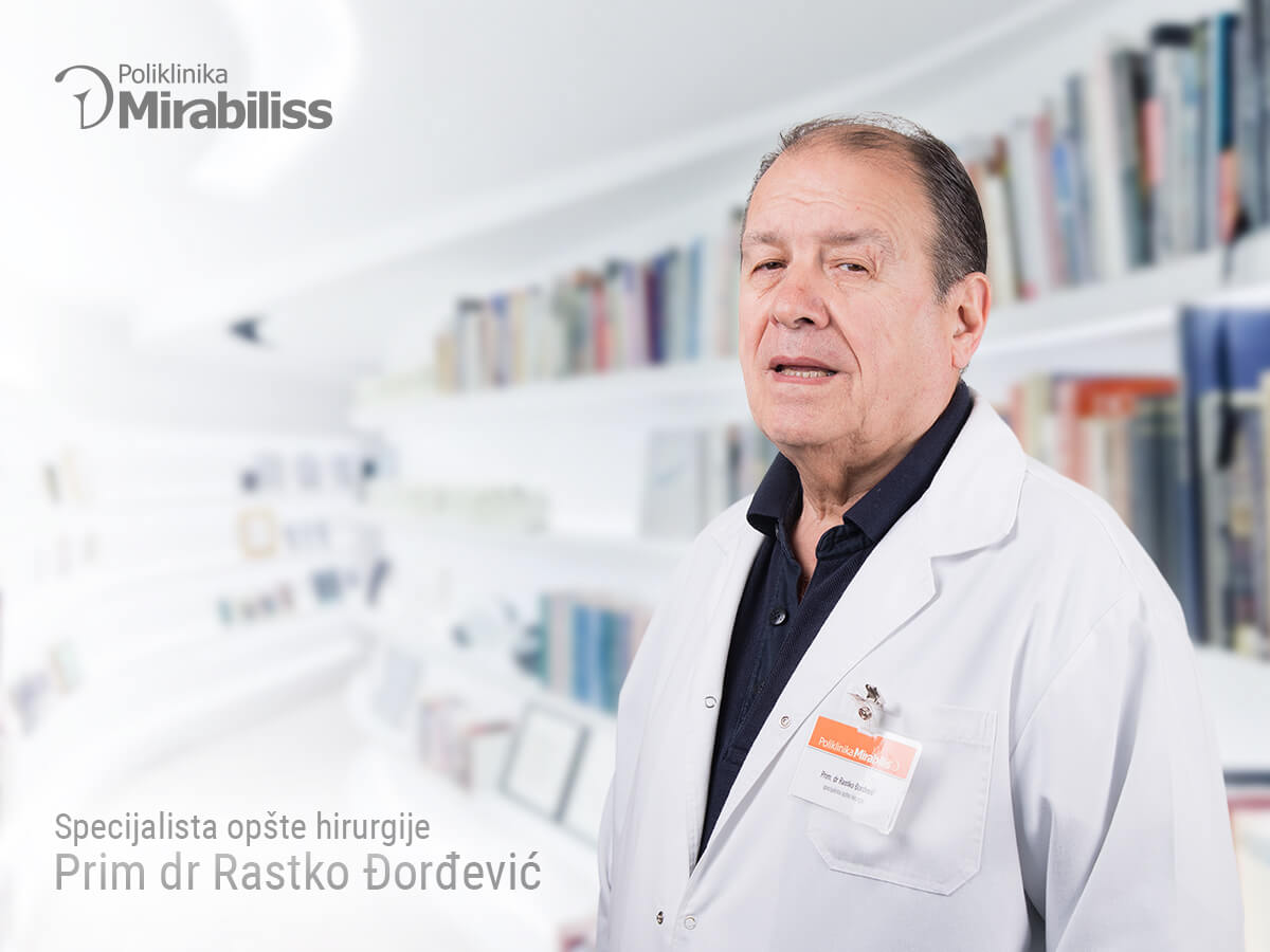Mirabiliss Polyclinic Nis - Our Team - Rastko Djordjevic