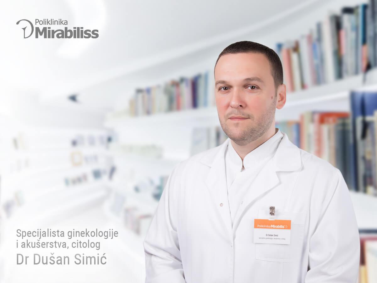 Mirabiliss Poliklinika, Niš - Stručni tim - Dušan Simić