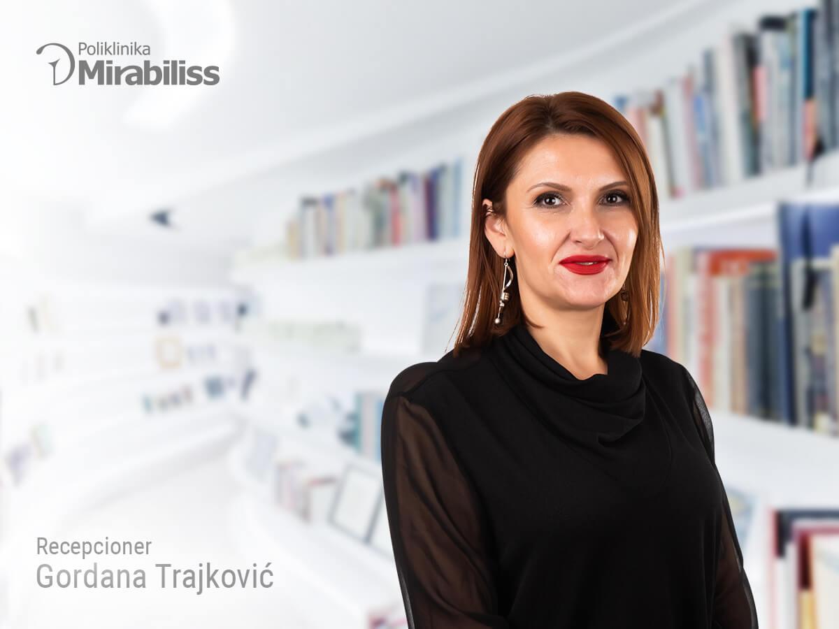 Mirabiliss Polyclinic Nis - Our Team - Gordana Trajkovic