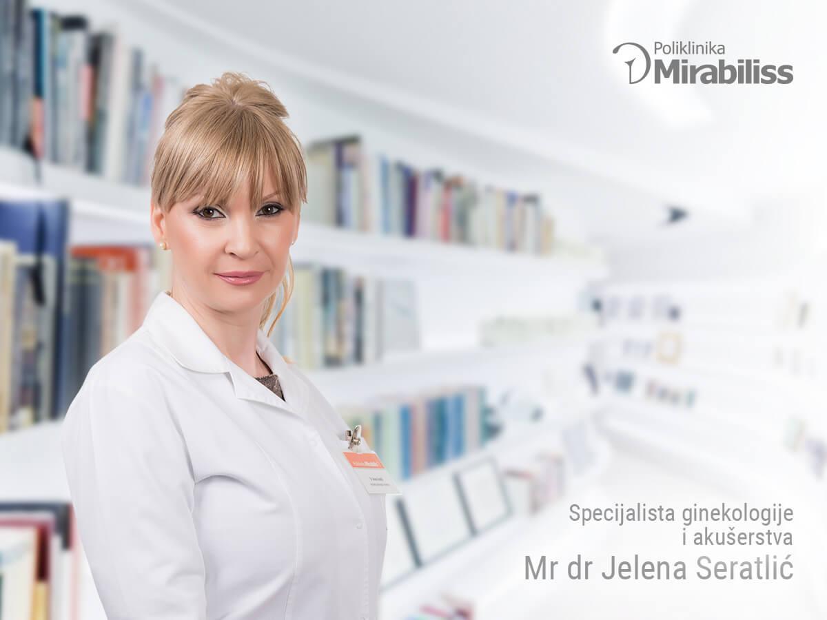Mirabiliss Polyclinic Nis - Our Team - Jelena Seratlic