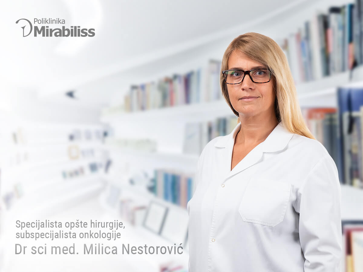 Mirabiliss Polyclinic Nis - Our Team - Milica Nestorovic