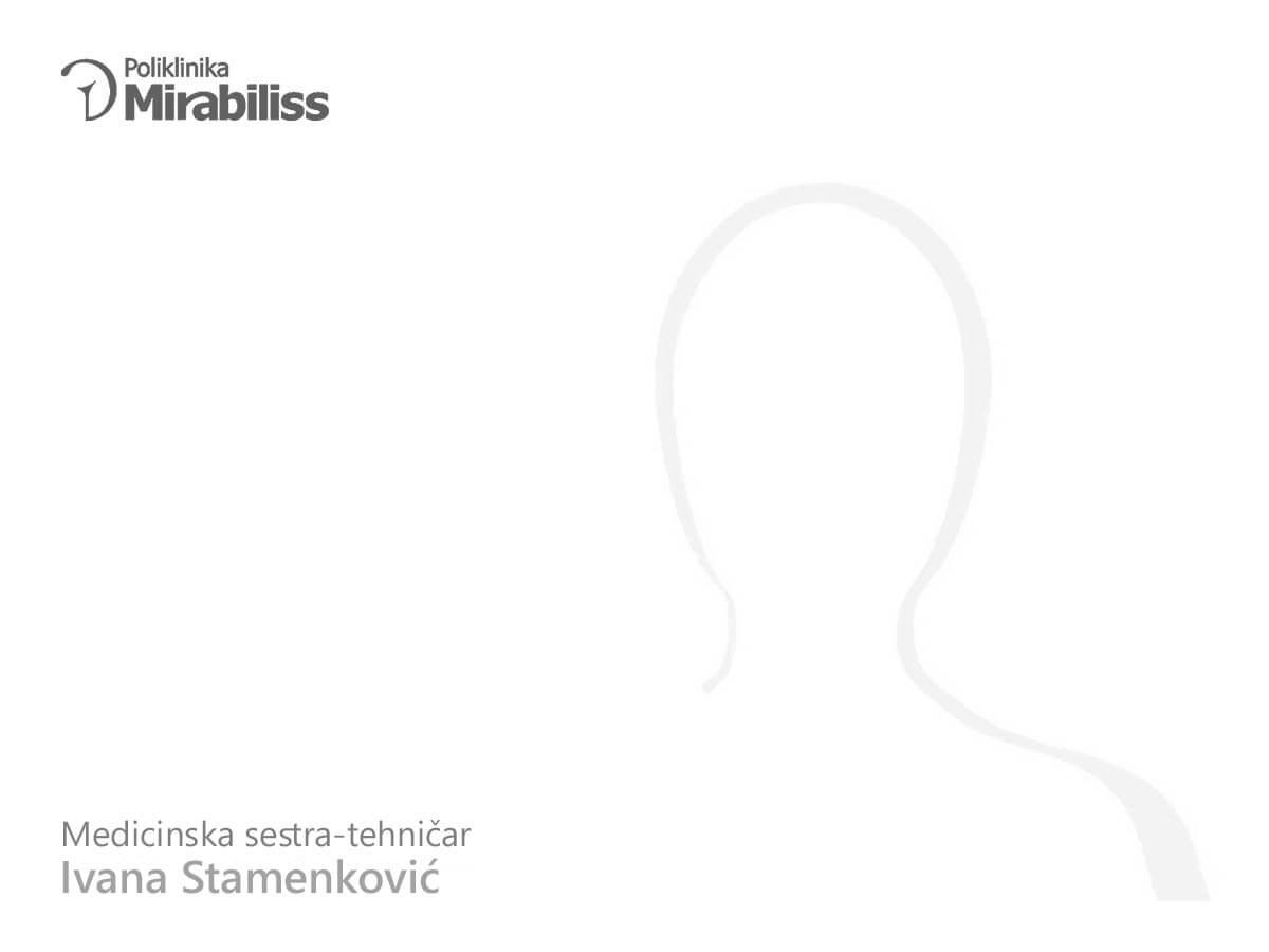 Poliklinika Mirabiliss Niš - Our team - Ivana Stamenković